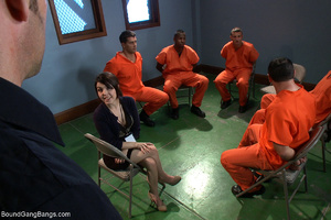 Dirty prisoners banging rudely their boo - XXX Dessert - Picture 1