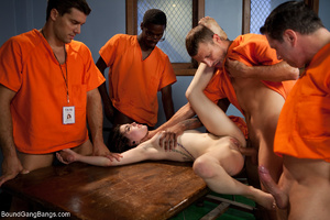 Dirty prisoners banging rudely their boo - XXX Dessert - Picture 4