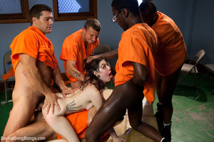 Dirty prisoners banging rudely their boo - XXX Dessert - Picture 6