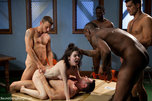 Dirty prisoners banging rudely their boo - XXX Dessert - Picture 7