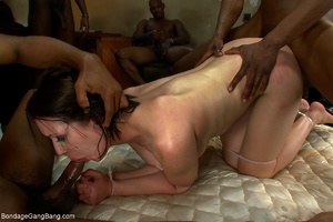 Five black guys jeering and fucking badl - XXX Dessert - Picture 6