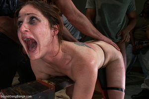 Red mom jeered and banged bound badly - XXX Dessert - Picture 6