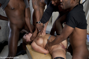 Black dude enjoy jeering and fucking red - XXX Dessert - Picture 5