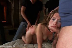 Enchianed ponytailed babe fucked by her  - XXX Dessert - Picture 7