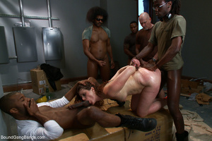 Red mom jeered and banged bound badly - XXX Dessert - Picture 10