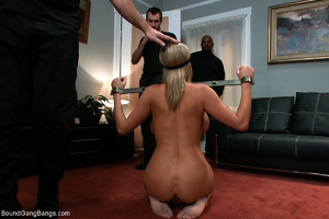 Busty blonde mom mouthful of sperm after - XXX Dessert - Picture 2