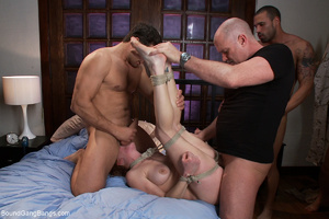 Ginger mom gets bound and banged roughly - XXX Dessert - Picture 7