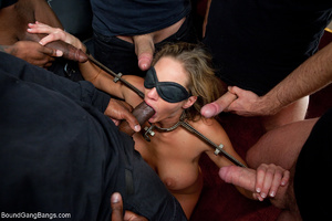 Busty blonde mom mouthful of sperm after - XXX Dessert - Picture 3