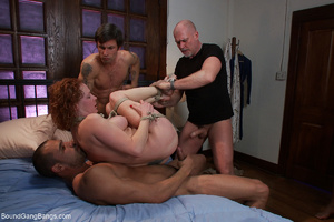 Ginger mom gets bound and banged roughly - XXX Dessert - Picture 9