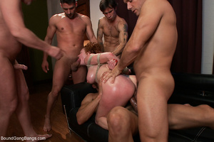 Ginger mom gets bound and banged roughly - XXX Dessert - Picture 10