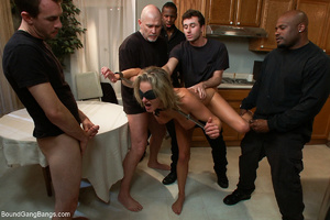 Busty blonde mom mouthful of sperm after - XXX Dessert - Picture 6