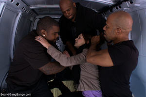 Black hungs banging hard bound and suspe - XXX Dessert - Picture 1