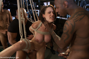 Black hungs banging hard bound and suspe - XXX Dessert - Picture 6