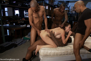 Black hungs banging hard bound and suspe - XXX Dessert - Picture 8