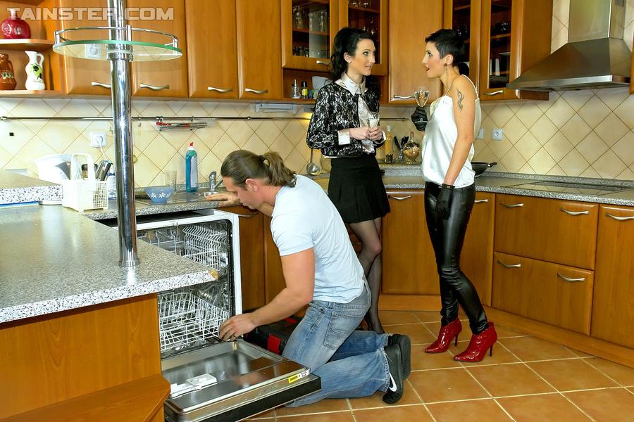 sex in the kitchen xxx
