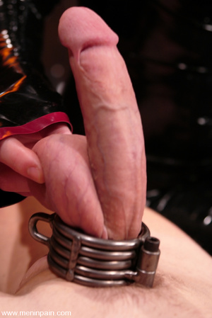 Handsome submissive man is violated by e - XXX Dessert - Picture 7