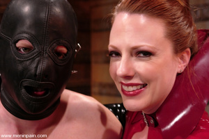Handsome submissive man is violated by e - XXX Dessert - Picture 15