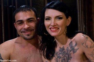 hot tattooed woman brutally