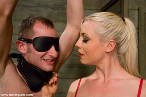 Hot blonde enjoys playing hard with youn - XXX Dessert - Picture 4