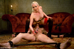 Hot blonde enjoys playing hard with youn - XXX Dessert - Picture 13