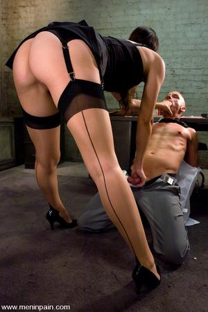 Skinhead mature hot man enjoys CBT elect - XXX Dessert - Picture 4