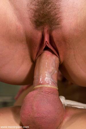Skinhead mature hot man enjoys CBT elect - XXX Dessert - Picture 14