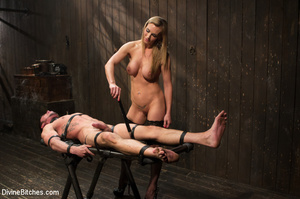 Sporty young man is gets new sex bondage - XXX Dessert - Picture 13