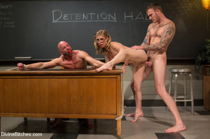 Hot cute young teacher enjoys dominating - XXX Dessert - Picture 6