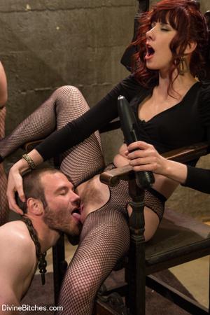 Three horny babes enjoys pounding up han - XXX Dessert - Picture 11