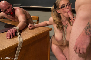Hot cute young teacher enjoys dominating - XXX Dessert - Picture 15