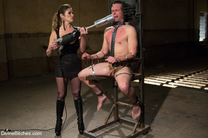 Fatale young lady loved dominating helpl - XXX Dessert - Picture 1