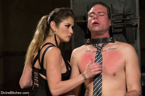 Fatale young lady loved dominating helpl - XXX Dessert - Picture 13