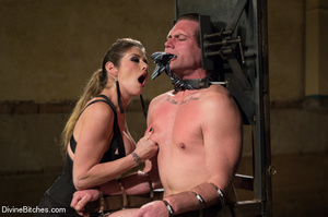 Fatale young lady loved dominating helpl - XXX Dessert - Picture 15