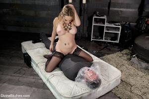 Horny hot and sexy blonde bitch loved to - XXX Dessert - Picture 13