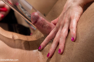 Pink dress blond female loved playing ha - XXX Dessert - Picture 13
