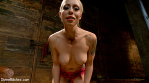 Sexy and horny blonde bitch loved stript - XXX Dessert - Picture 15