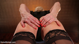 Short hair blonde loved to show pics of  - XXX Dessert - Picture 1