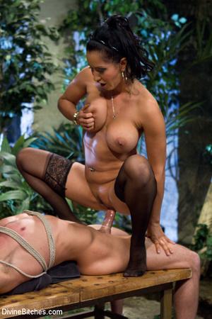 Sexy fatale woman enjoys fucking gutless - XXX Dessert - Picture 13