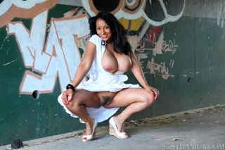 naughty danica flashing big