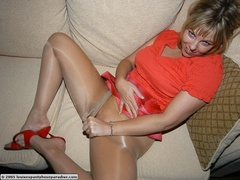 Hot babes in stocking can't control - Sexy Women in Lingerie - Picture 5