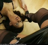 Young babies get naughty in office