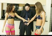 sassy lesbian lingerie models