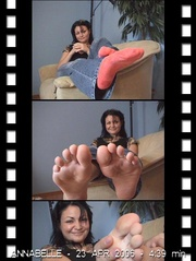 tempting gracious feet and