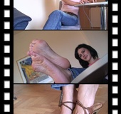 Twist and turns for teasing toes and soles