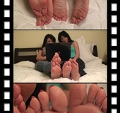 Bewitching souls' alluring you to feel their soles