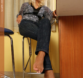Alluring ladies with great volumptious soles exclusively for you