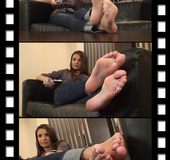 Seducing you off you chair for a great sensational soles and toes playtime