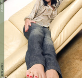 Gorgeous soles and toes for one's own serenity