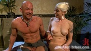 blond babe rides cock