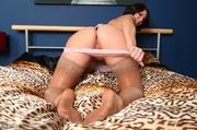brunette slutty housewife stockings